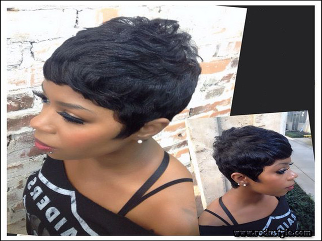 28 Piece Weave Short Hairstyle 5 Haircuts Images