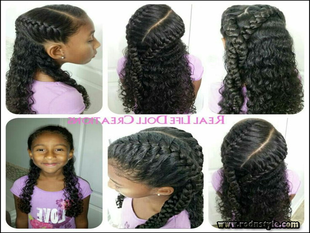 Cute Hairstyles For Mixed Curly Hair 0 | Haircuts Images