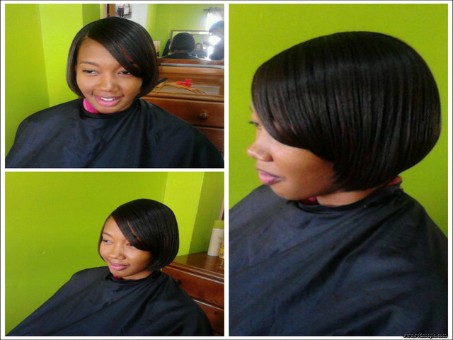 Flat Iron Hairstyles For Black Short Hair 8   Haircuts Images