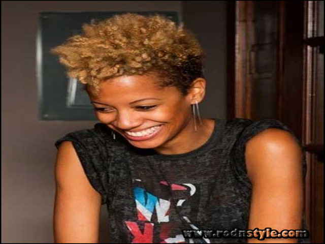 Short Black Natural Hairstyles 2015 1