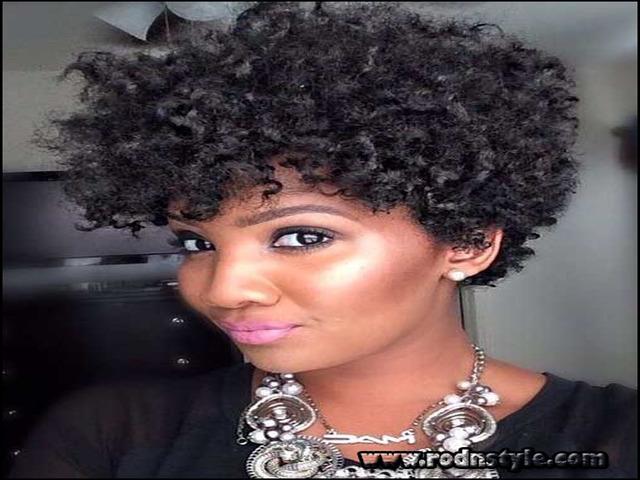 Short Black Natural Hairstyles 2015 11
