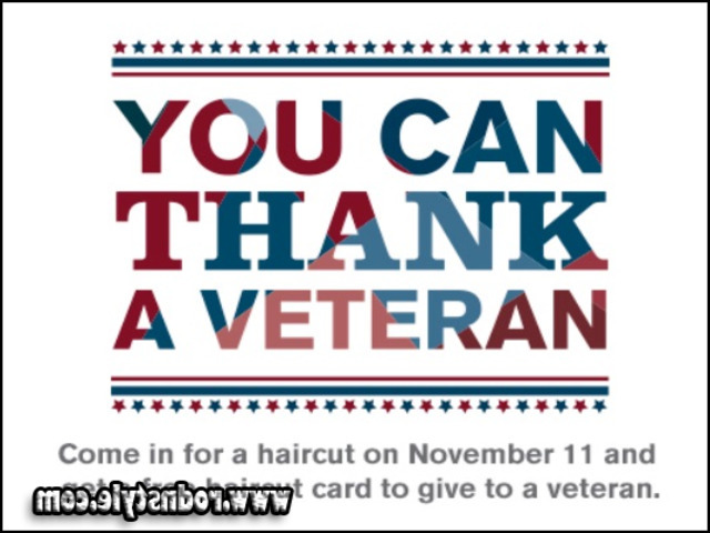 Free Haircuts For Veterans 1