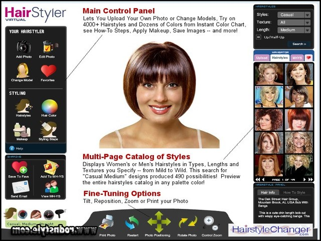 Free Virtual Hairstyles Upload Photo 0