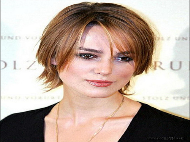 Haircuts For Fine Hair And Round Face 13