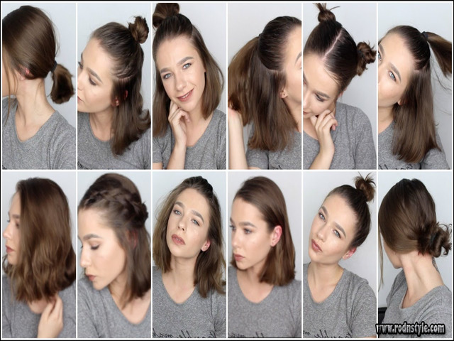 Image for How You Can (Do) Hairstyles For Shorter Hair Almost Instantly
