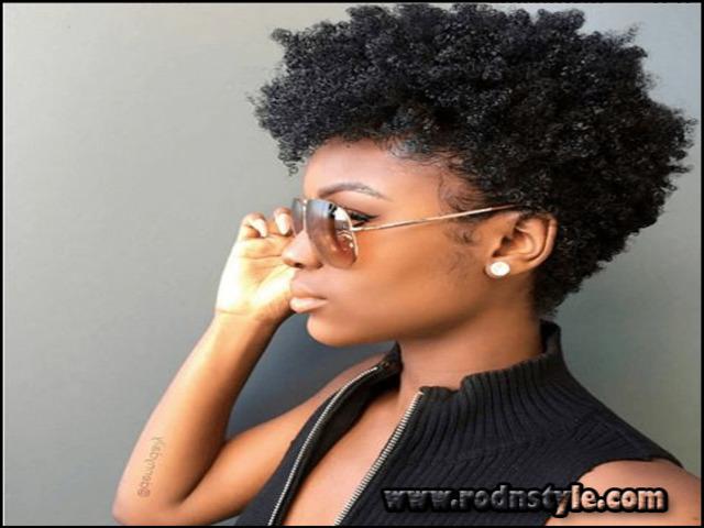 Short Haircuts For Natural Black Hair 9