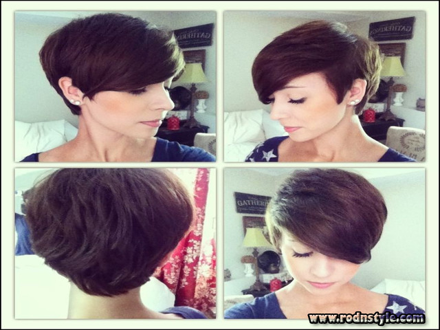 Pictures Of Short Haircuts Front And Back 7