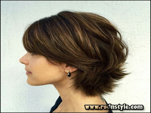 Shaggy Hairstyles For Thick Hair 1