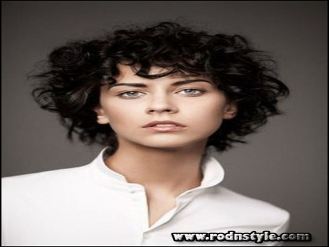 Short Haircuts For Curly Hair 2015 13