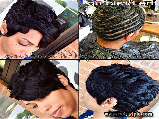 Short Sew In Weave Hairstyles Pictures 0