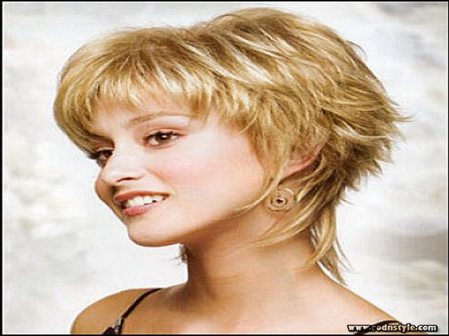Short Shaggy Hairstyles For Fine Hair 2