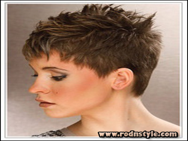 Short Spiky Haircuts For Thick Hair 10