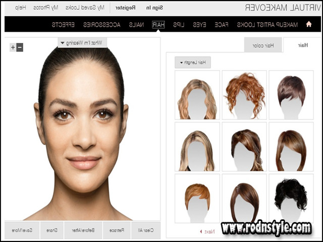 Image for A Beginner's Guide to Virtual Hairstyles For Women Free