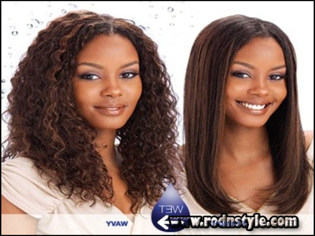 Wet And Wavy Weave Hairstyles Photo Gallery 7 9 10 13 2 4 5  6
