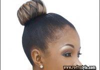 African American Hair Bun Hairstyle 13