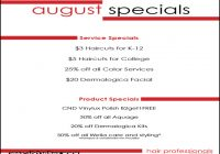 Back To School Haircut Deals 3