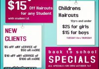 Back To School Haircut Specials 11