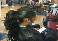 Black Hair Weave Ponytail Hairstyles 13