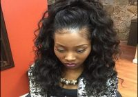 Black Hair Weave Ponytail Hairstyles 5