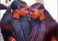 Black Hair Weave Ponytail Hairstyles 8