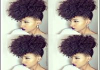Black Natural Hairstyles For Medium Length Hair 7