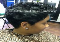 Black Short Quick Weave Hairstyles 12