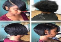 Flat Iron Hairstyles For Black Short Hair 2