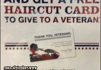 Free Haircuts For Veterans 8