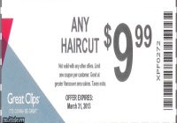 Great Clips $7.99 Haircut 3
