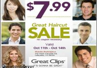 Great Clips $7.99 Haircut 7
