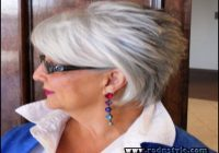 Hairstyles For Women Over 60 With Glasses 0