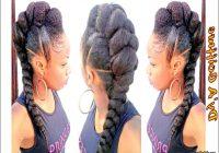Hairstyles With Jumbo Braiding Hair 0