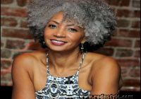 Natural Hairstyles For Older Black Woman 7