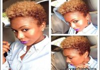 Short Natural Hairstyles With Color 4