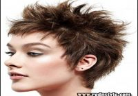 Short Spiky Haircuts For Round Faces 7