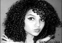 Wet And Wavy Hairstyles For Black Hair 8