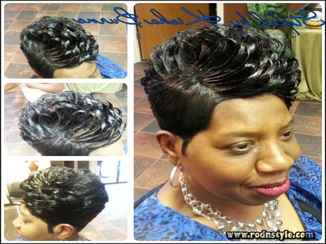 28 Piece Weave Short Hairstyle 1