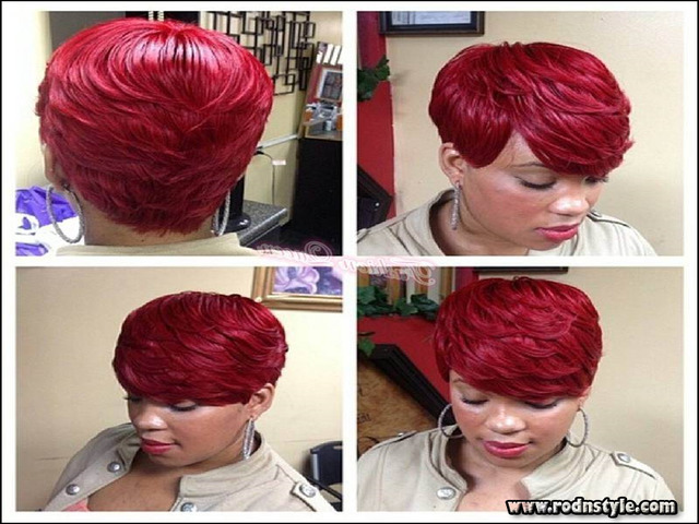 Image for Make13 Pictures Of 28 Piece Weave Short Hairstyle
