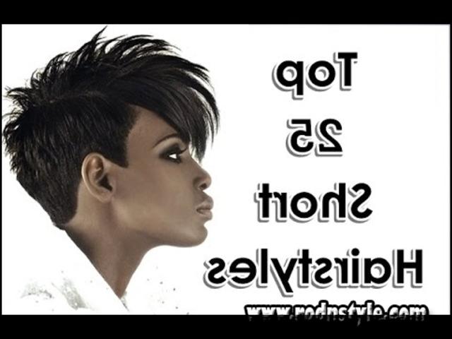 African American Short Weave Hairstyles 8