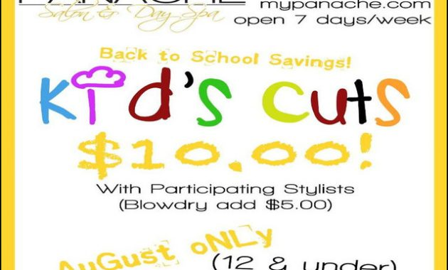 Back To School Haircut Deals 12