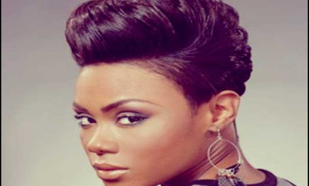 Black Females Short Hairstyles Pictures 12