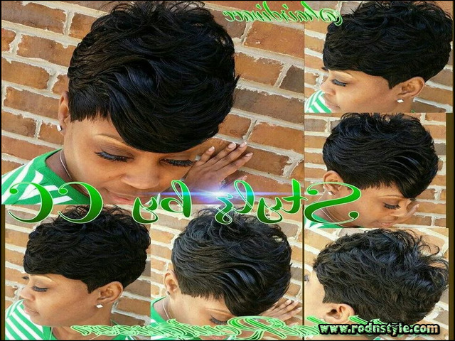 Black Short Quick Weave Hairstyles 0