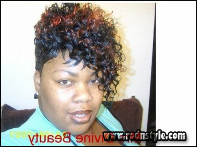 Black Short Quick Weave Hairstyles 6