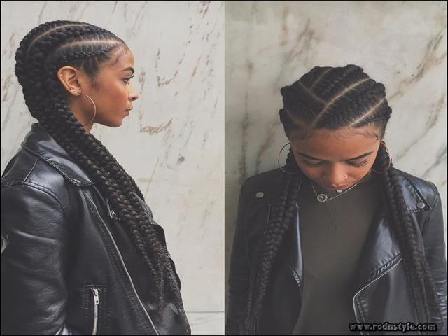 Braided Weave Hairstyles Black Hair 10