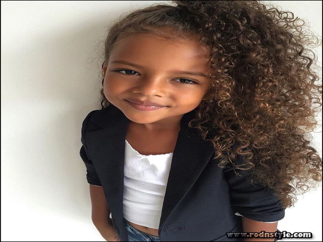 Cute Hairstyles For Mixed Curly Hair 10