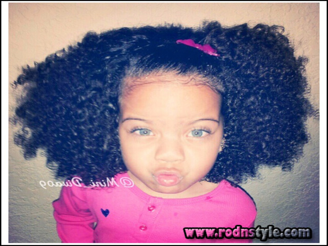 Cute Hairstyles For Mixed Curly Hair 5