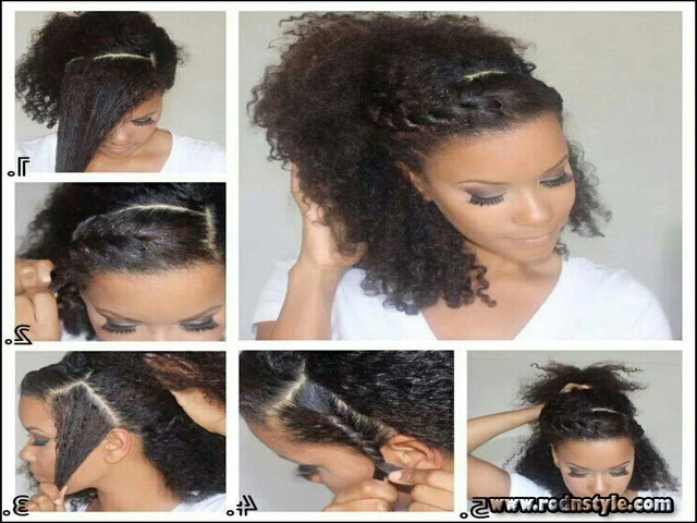 Cute Hairstyles For Mixed Curly Hair 7