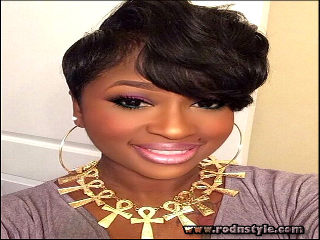 Cute Short Hairstyles For Black Females 2015 12