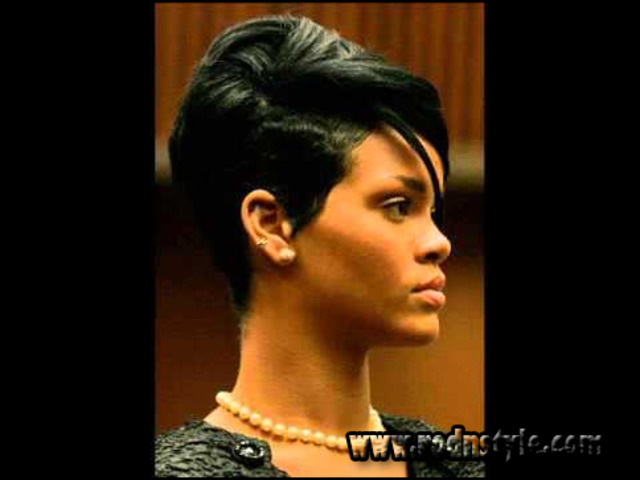 Image for 12 Images Of Flat Iron Hairstyles For Black Short Hair