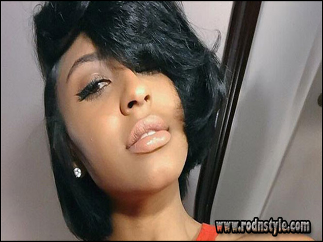 Flat Iron Hairstyles For Black Short Hair 12